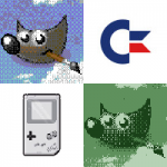 Gimp: effetto Commodore 64 e Game Boy