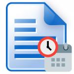 Cambiare la data di un file